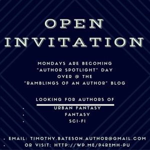 Open Invitation - Author Spotlight(1)